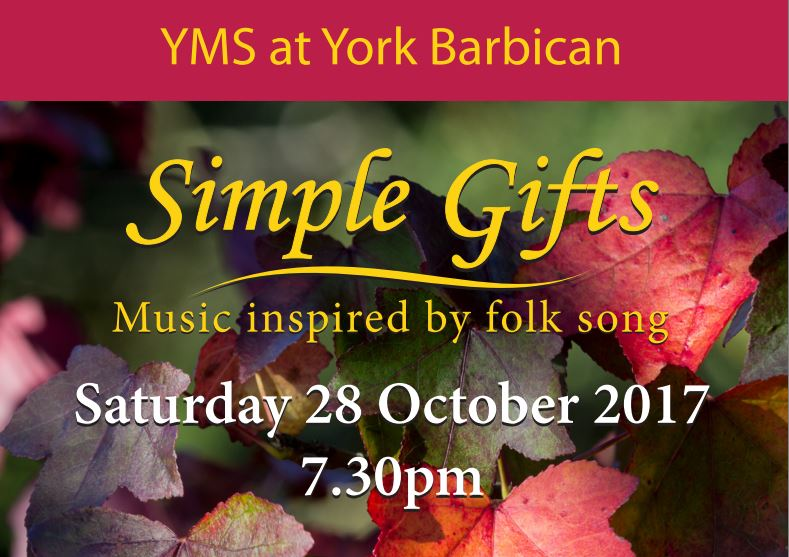 Simple Gifts: Music inspired by folk song