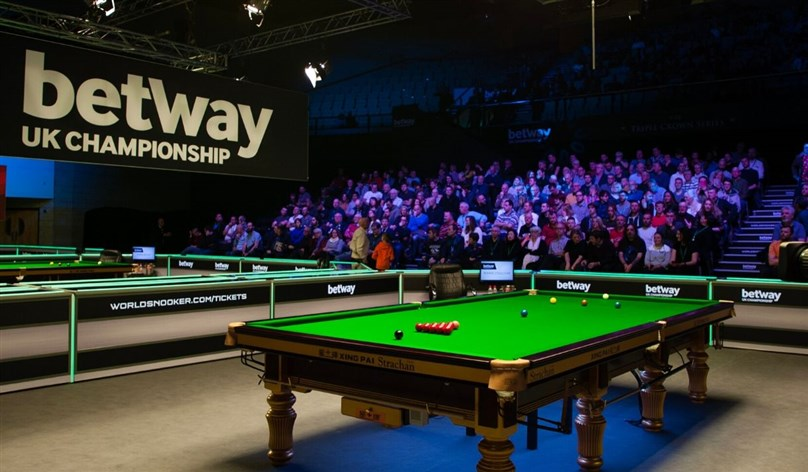 Cancelled - Betway UK Snooker Championship 2020