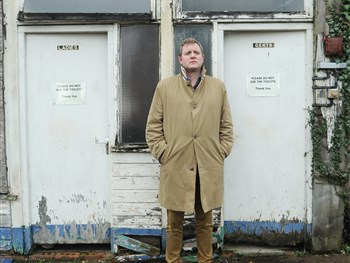Miles Jupp is getting ready to set the world to rights