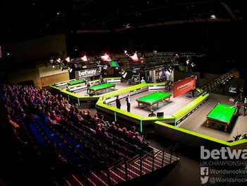 UK Snooker Final Close To Sell Out. Remaining Tickets Going Fast!