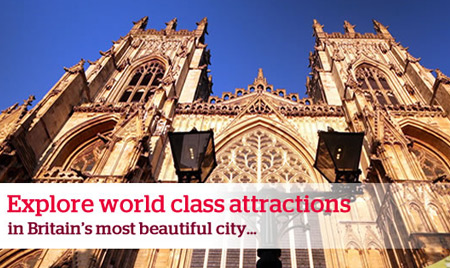 Visit the historic town of York